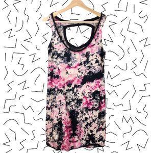 3/$20 ZAC POSEN TARGET Tie Dye Mini Dress